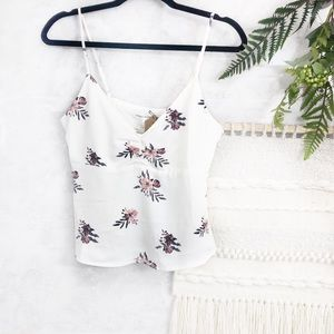 Honey Patch floral camisole